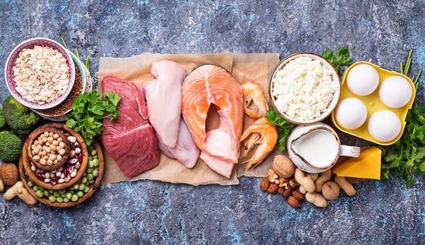Eier, Fleisch und Fisch stecken voller essentieller Aminosäuren