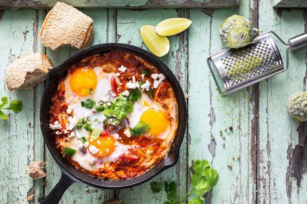 Eier lassen sich in der Küche vielseitig einsetzen