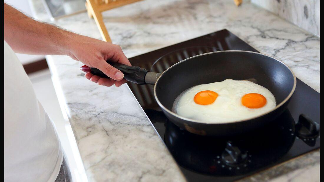 Eier sind in der Küche vielfältig einsetzbar