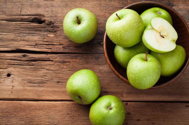 Ein Apfel enthält mehr als 30 Vitamine