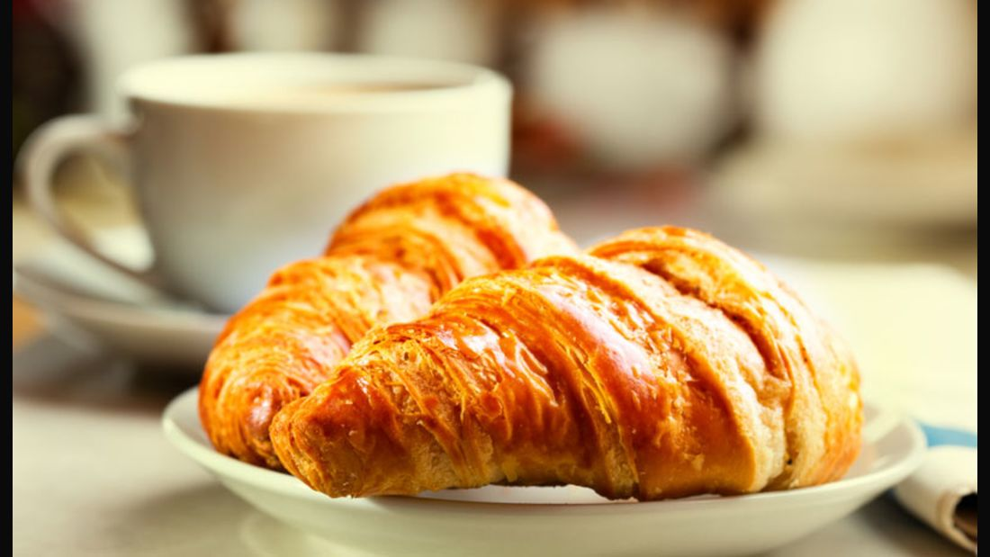 Ein Croissant hat 15-mal mehr Fett als ein Brötchen