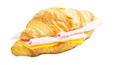 Ein Croissant mit Schinken und Käse hat im Durchschnitt 25 Gramm Fett