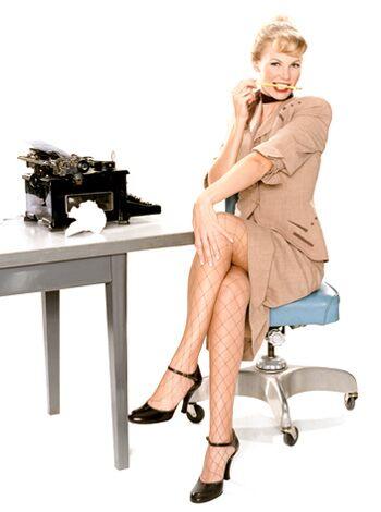 Ein Evergreen des Sex-Appeal, aber bei MensHealth-Lesern nur auf Platz 6:  die Sekretärin