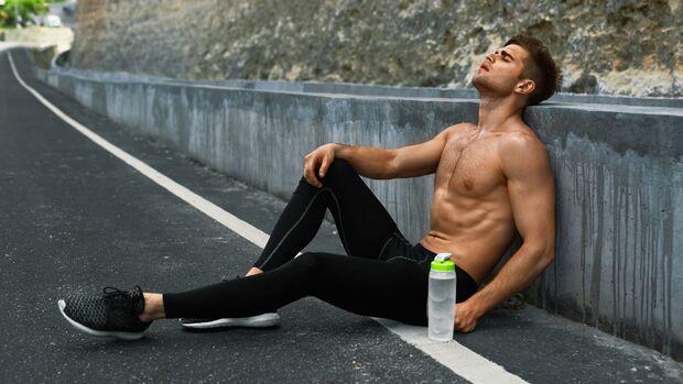 Ein Marathon kann die Potenz gefährden