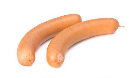 Ein Paar Wiener Würstchen haben 40 Gramm Fett