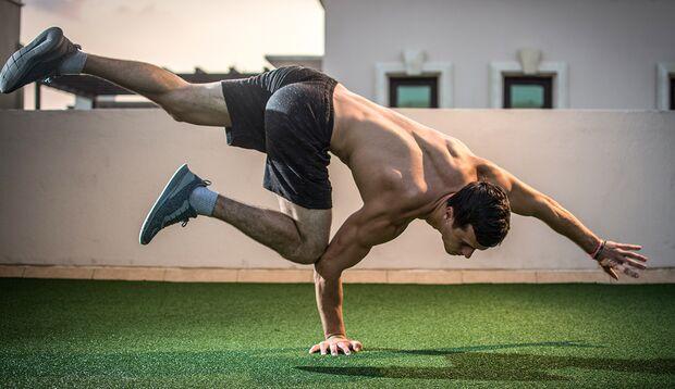Ein Paradebeispiel, wie gut die Muskeln und das Nervensystem zusammenarbeiten können