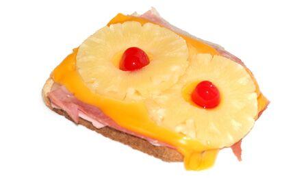 Ein Toast Hawaii hat 29 Gramm Fett