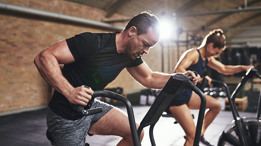 Ein Warm-up hilft, sich besser aufs Training einzustellen