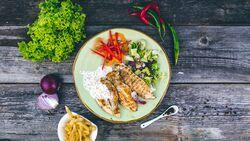 Ein gesundes Mittagessen schmeckt noch besser, wenn es auch optisch was hermacht