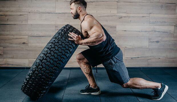 Ein guter Muskelpump stabilisiert die Gelenke und lässt Sie stärker durchstarten