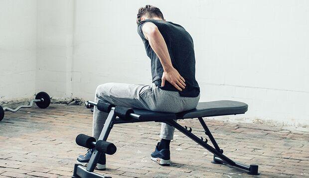 Ein vernachlässigter birnenförmiger Muskel lässt Sie mit Schmerzen sitzen