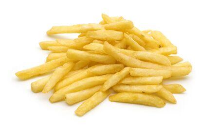 Eine Portion Pommes hat 17 Gramm Fett