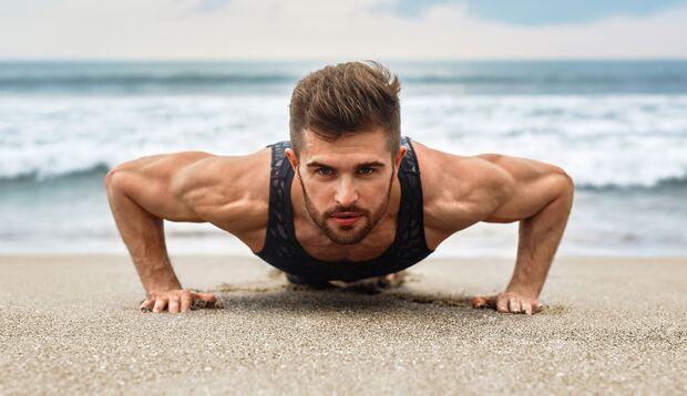 Eine für alle – Liegestütz trainiert den kompletten Oberkörper