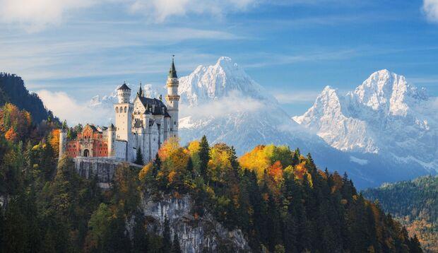 Einer der Besuchermagneten schlechthin nahe Füssen: Schloss Neuschwanstein