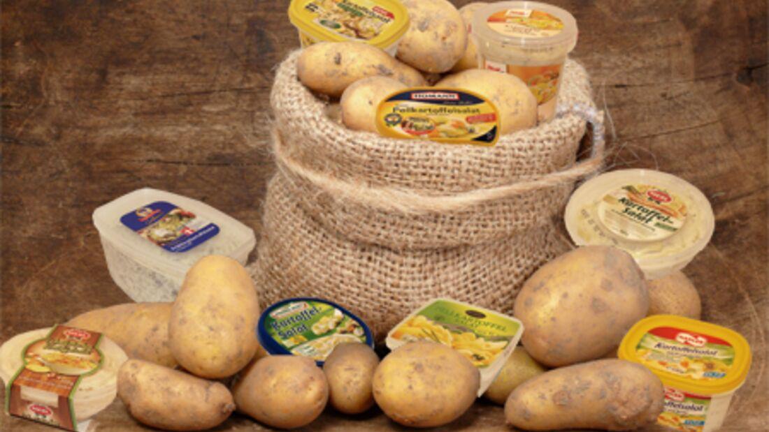 Einige Redakteure der Men's Health testeten neun Sorten Kartoffelsalat