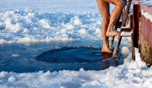 Eisbaden ist Biohacking für Fortgeschrittene