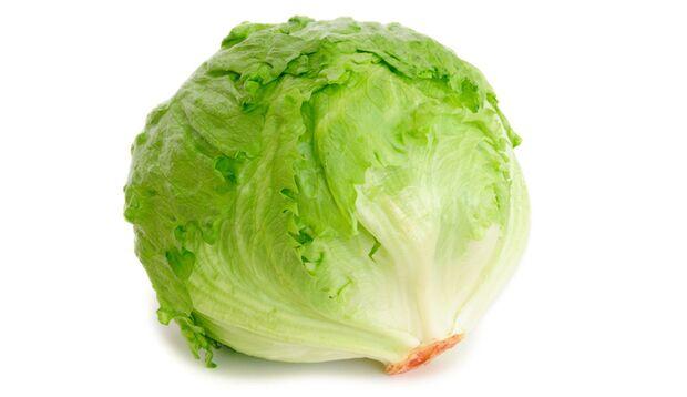 Eisbergsalat ist der robusteste unter den Salaten
