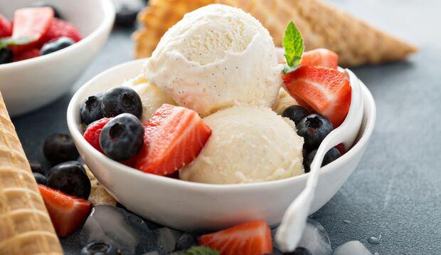 Eiscreme ist während der Militär-Diät erlaubt