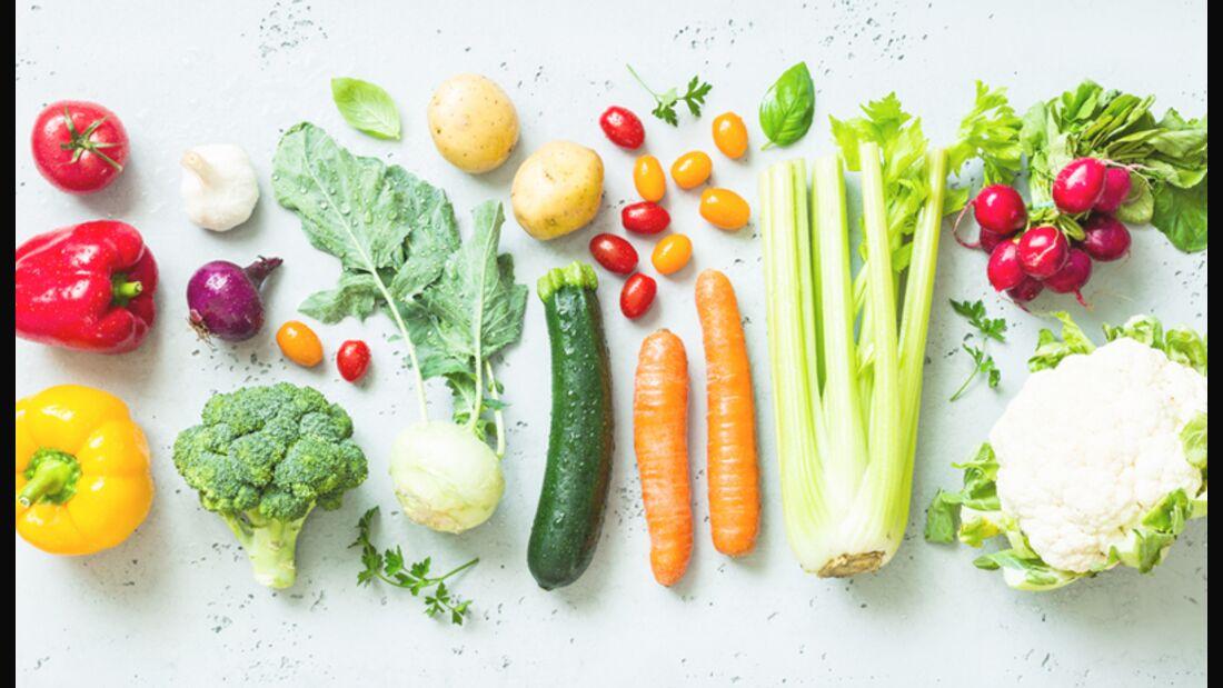Eisenhaltiges Gemüse in der Übersicht