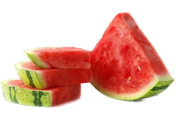 Eisgekühlt schmeckt Melone am besten