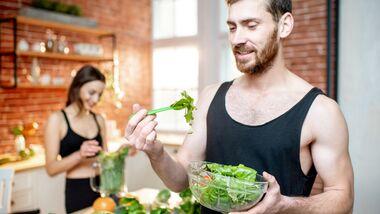 Eiweißreiche Salat-Zutaten