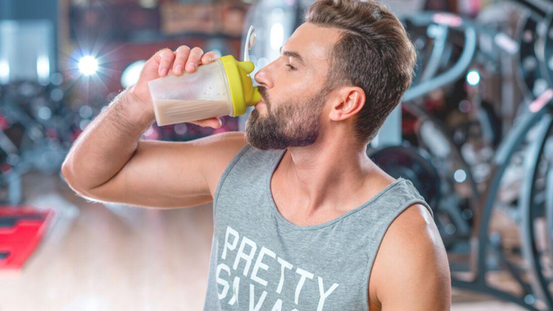 Eiweißshake alls Post-Workout-Snack