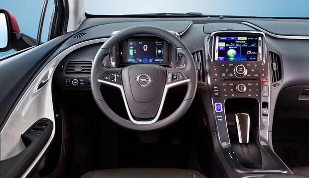 Elektro-Auto Opel Ampera im Lifestyle-Test