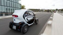 Elektroauto Renault Twizy im Lifestyle-Test von MensHealth.de