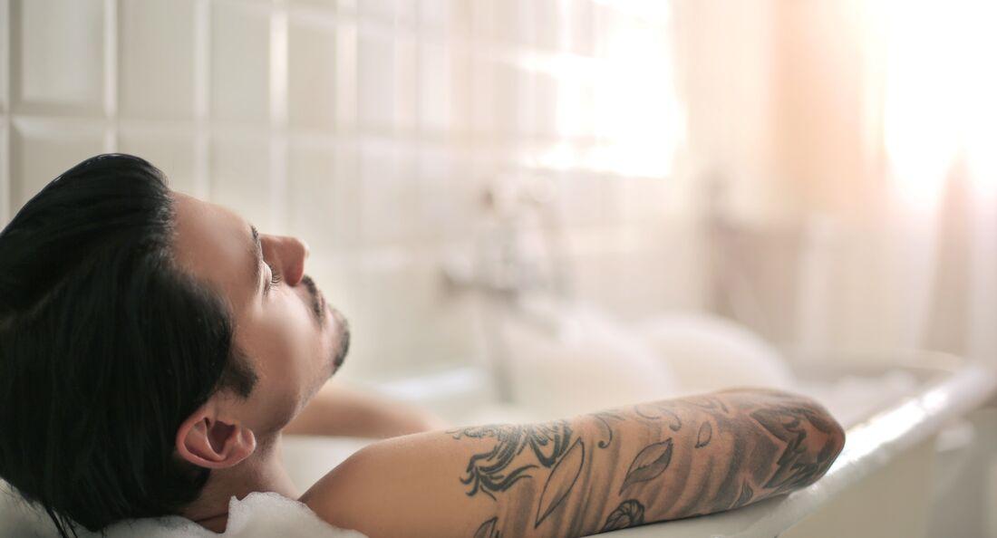 Entspannungsbad bei Muskelkater