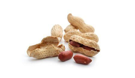Erdnüsse enthalten bis zu 0,17 Milligramm Resveratrol pro 100 Gramm