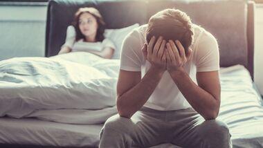 Erektionsstörungen haben oft eine ungefährliche Ursache