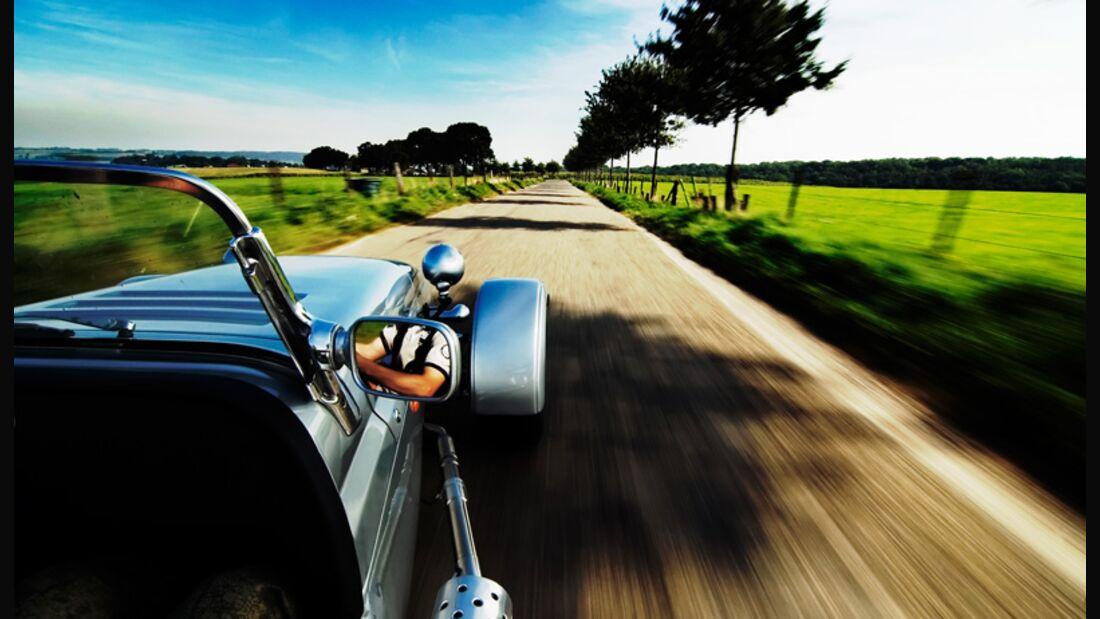Erkältungsrisiko Cabriofahren