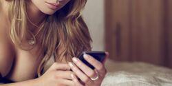 Erotische Nachrichten vom Partner machen Lust, sind aber auch riskant