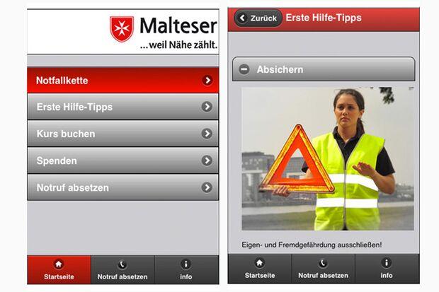 Erste-Hilfe-App (Malteser)