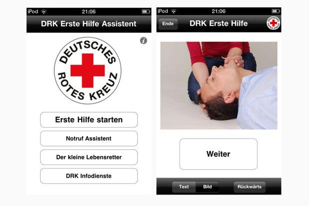 Erste Hilfe DRK – Deutsches Rotes Kreuz