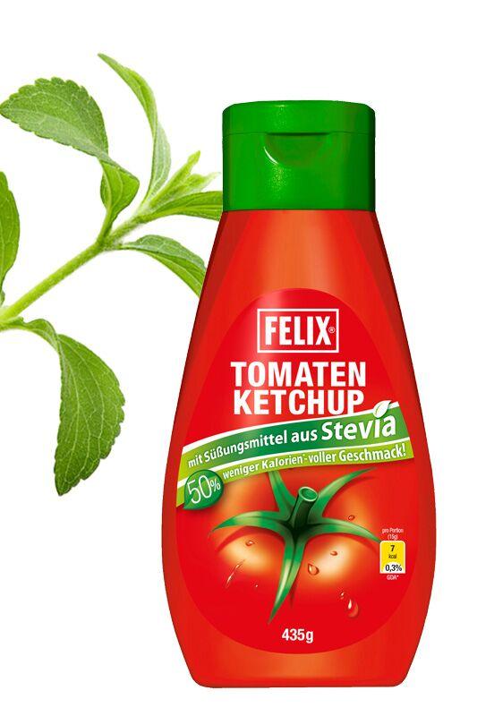 FELIX Ketchup mit Süßungsmittel aus Stevia