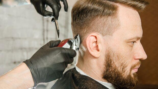 Fade Cut bei dünnem Haar