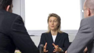 Familienminsterin Ursula von der Leyen im Interview