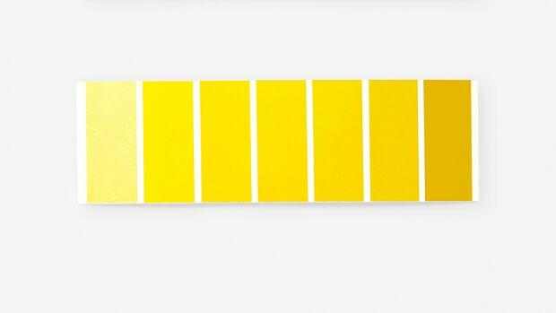 Farbpalette Gelb