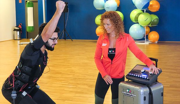 Fitnesskurs EMS-Training im Test