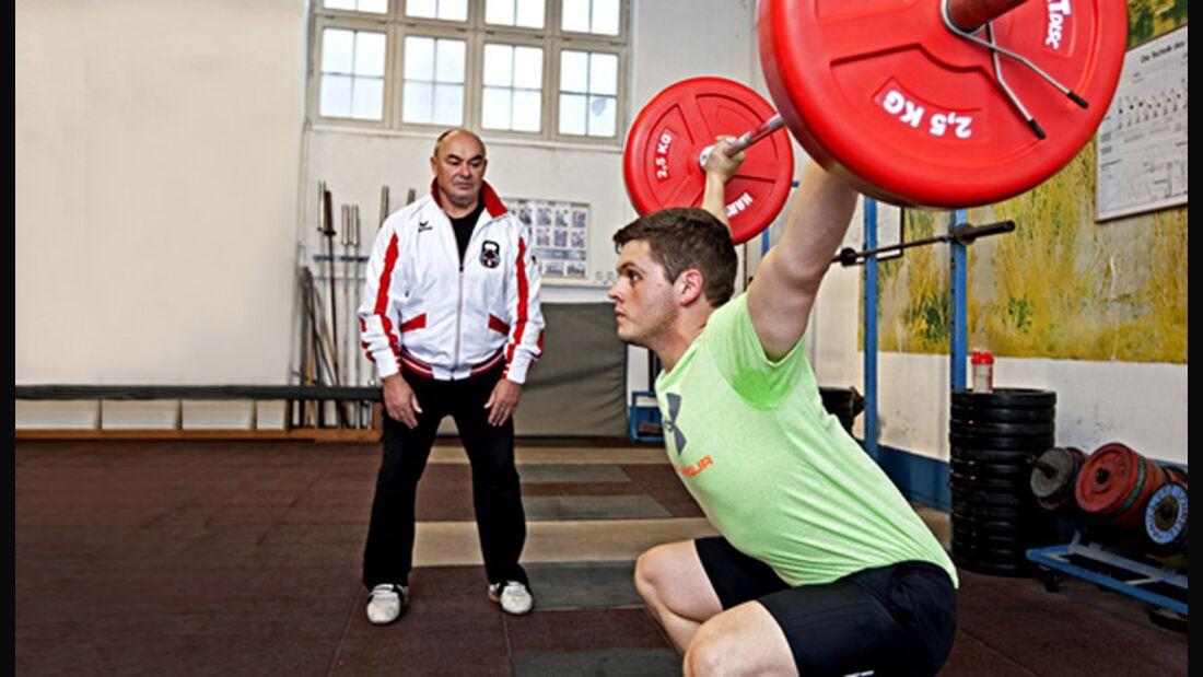 Fitnesskurs Gewichtheben im Test