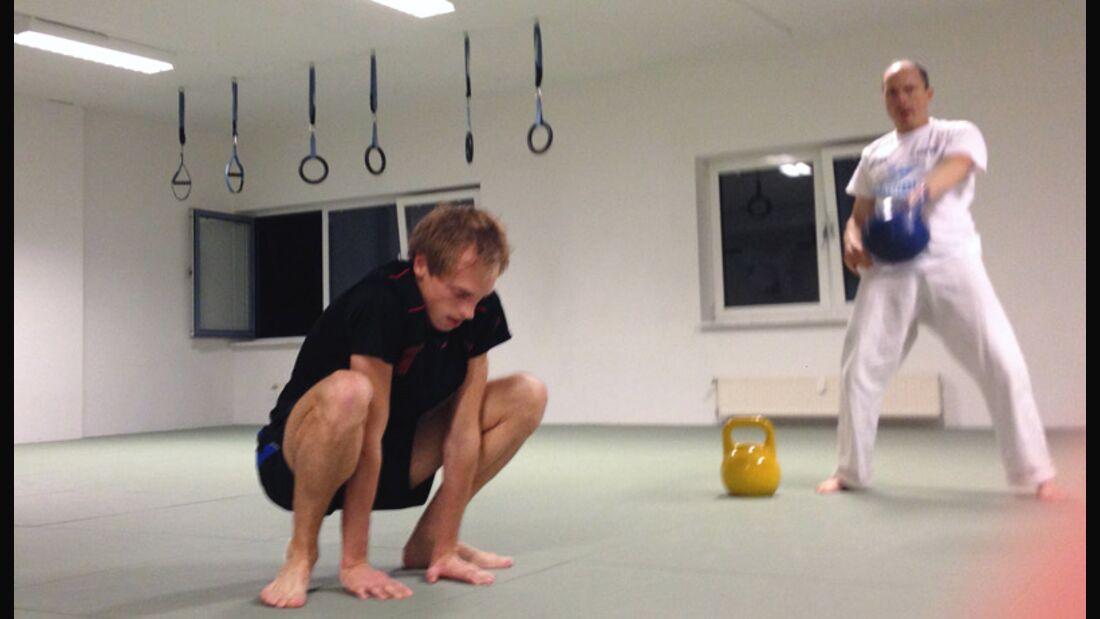 Fitnesskurs Tacfit im Test