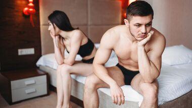 Flaute im Bett: An diesen Gründen kann es liegen