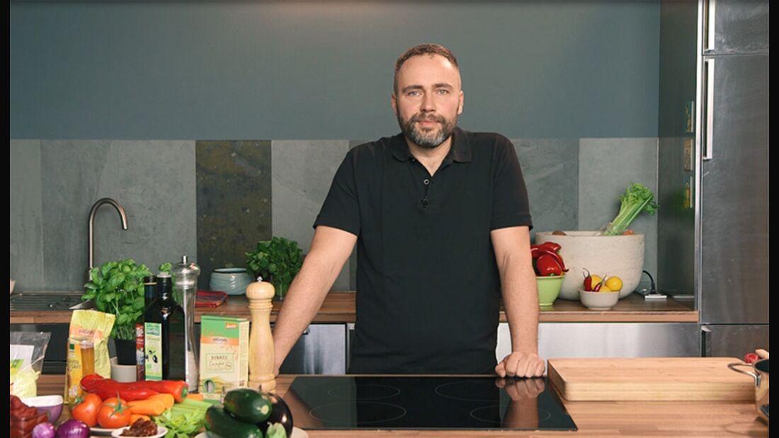 Fleischlos kochen im Video: vegane Kochvideos mit Alexander Flohr