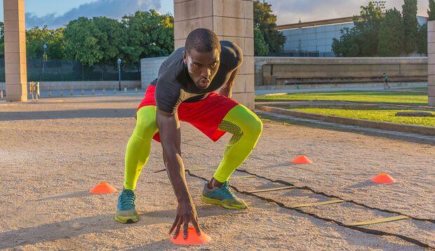 Flinke Beine und ein fittes Reaktionsvermögen helfen Ihnen beim Squash, Fußball und wenn Sie den Bus noch schnell erreichen wollen