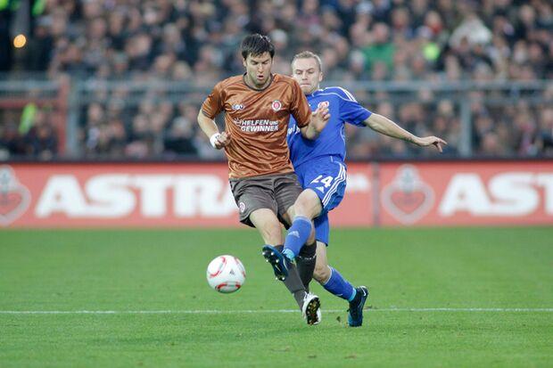 Florian Bruns gibt vollen Einsatz auf dem Spielfeld