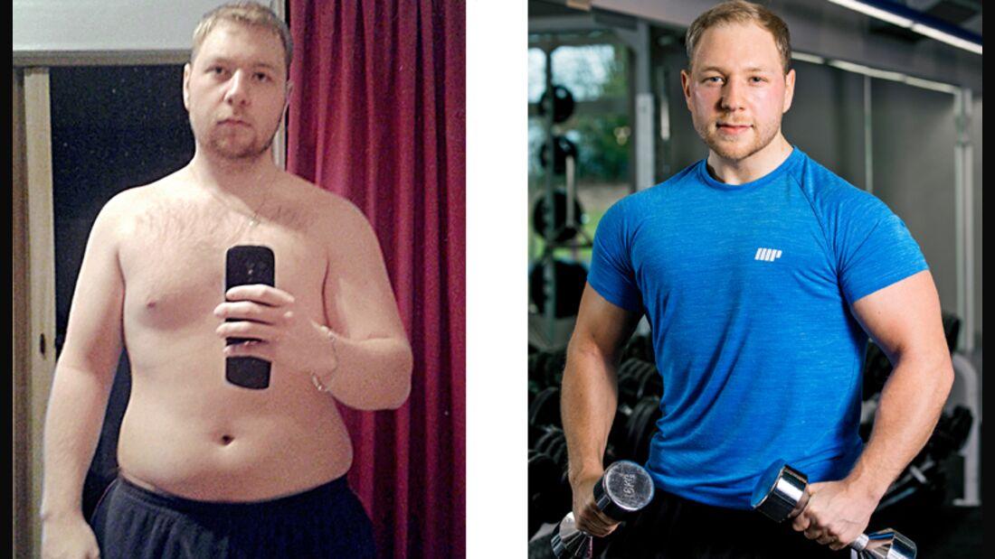 Florian hat 50 Kilo abgenommen