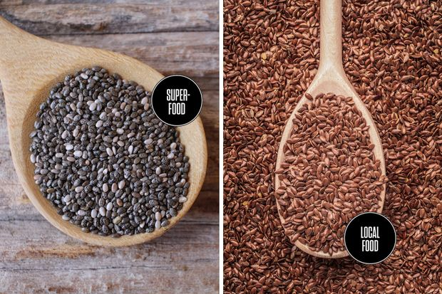 Food-Duell: Superfood vs. Local Food