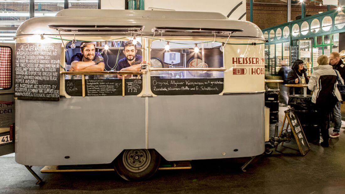 Food-Truck in Berlin: HEIßER HOBEL