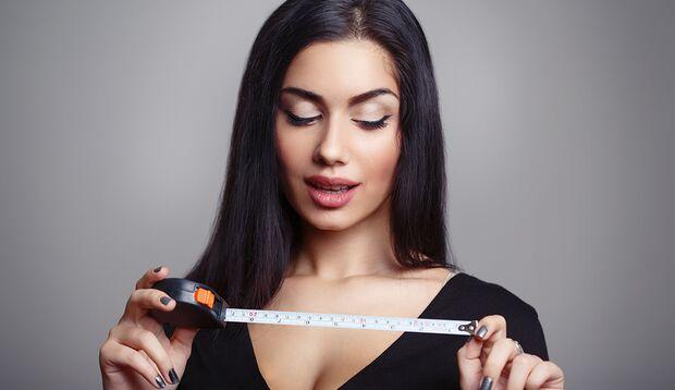 Frauen kommt es auf den Gesamteindruck, nicht auf die Länge an